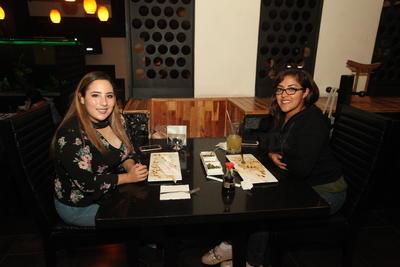 Dulce Almeida y Ana Gómez.