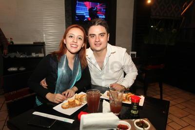 Brenda Zubia y Alexis Galindo.
