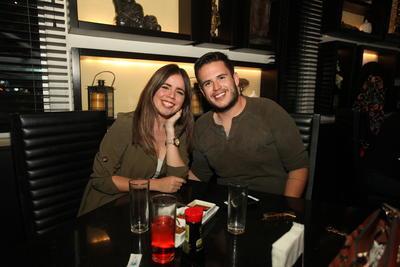 Xenia de la Rosa y Daniel Rojas.