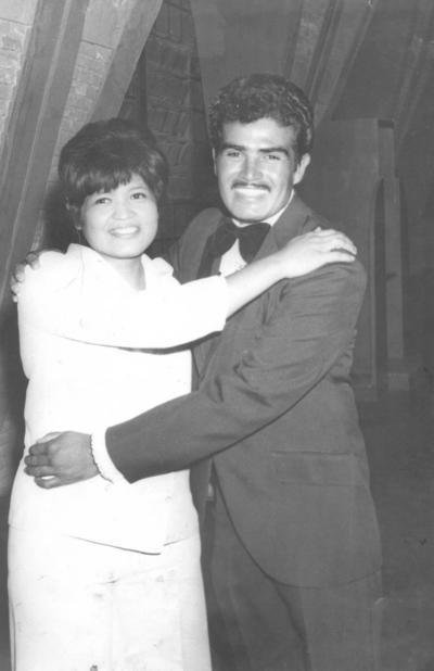 14102018 Socorro Méndez y Manuel Halcón en 1960.