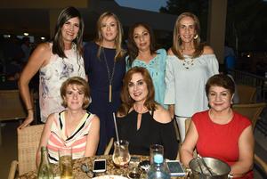 14102018 ENTRE AMIGAS.  María Luz, Elena, Diana, Gabriela, Sofía, Carmen y Cristy.