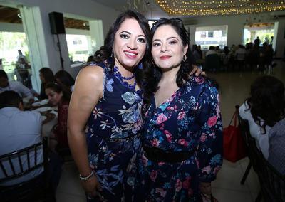 Ivi Quezada y Adriana Rodríguez.