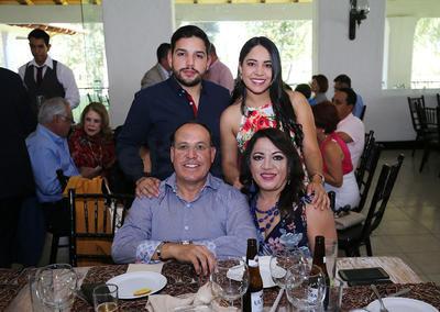 Familia Lazarín Quezada.