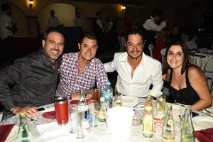 Luis David Villalobos Benjamin Orozco Alex Diaz y Elba Reyes