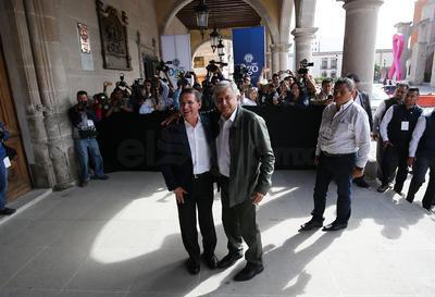 Obrador tiene previsto concluir este fin de semana su gira de agradecimiento para dedicarse a lo que será la transición de gobierno.