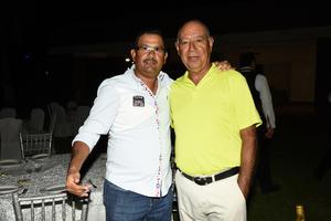 Jorge Escandón y Felipe Rodríguez