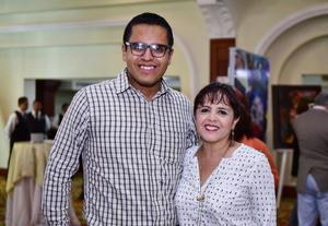 José Alfredo Cervantes y María Estela Ochoa