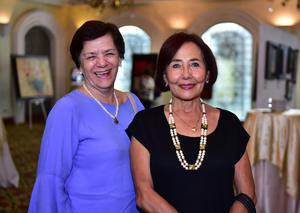 Mary Cruz Lechuga y Alicia Jaime