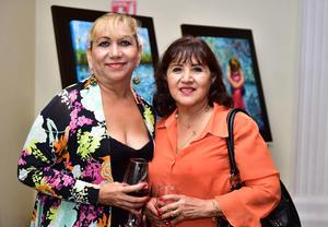 Verónica Reza y Rosario Ochoa