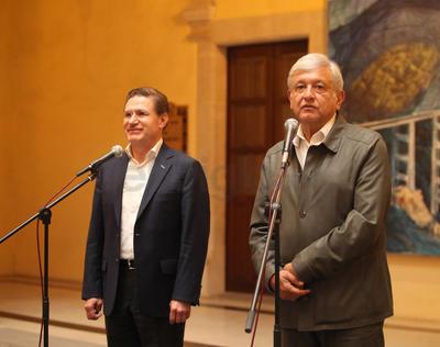 López Obrador señaló que el próximo año se invertirán en esta entidad alrededor de 10 mil millones de pesos del programa de Bienestar Social.