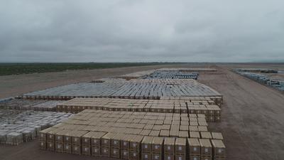 """El proyecto se denomina """"174 Power Global"""" y contempla la instalación de 360 mil paneles solares en una superficie de 230 hectáreas, en terrenos de los ejidos Santo Niño Aguanaval y San Julián, del municipio de Matamoros."""