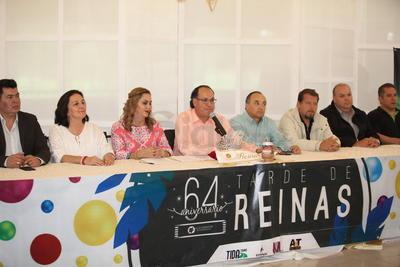Candidatas a reina del 64 aniversario del Club Campestre