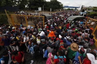 Lograron pasar el primer filtro para avanzar hacia México.