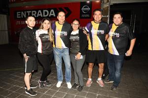 20102018 EN RECIENTE CARRERA.  Christian, Maritere, Humberto, Brenda, Antonio y Manuel.
