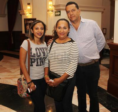 Familia Vázquez Mier.