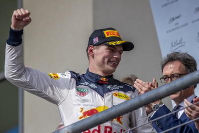 El segundo lugar fue para Max Verstappen de Aston Martin.