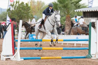 El evento contó con la participación de renombradas personalidades de la equitación.