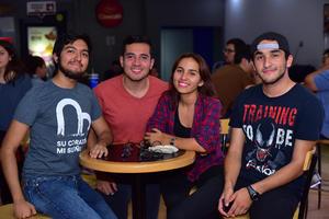 22102018 Carlos, Ismael, Alina y Toño.