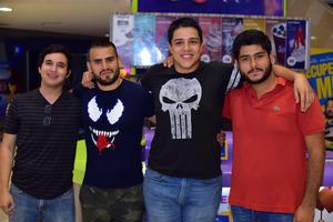 22102018 Mauricio, Ricardo, Jorge y Mauricio.