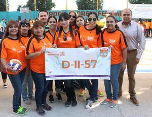 22102018 Equipo femenil de volibol de la Secundaria No. 9 de Villa Jacarandas.