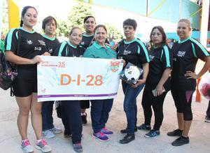 22102018 Muchachas de volibol de la Zona Escolar No. 28 de Torreón, Coahuila.