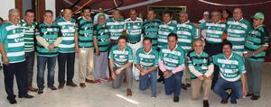 22102018 Representantes de varios equipos de futbol.