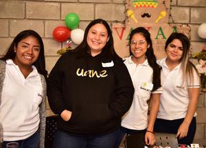 22102018 Ilse Coronado, Ximena Marrufo, Arlete Reyes y Vianey Oviedo.