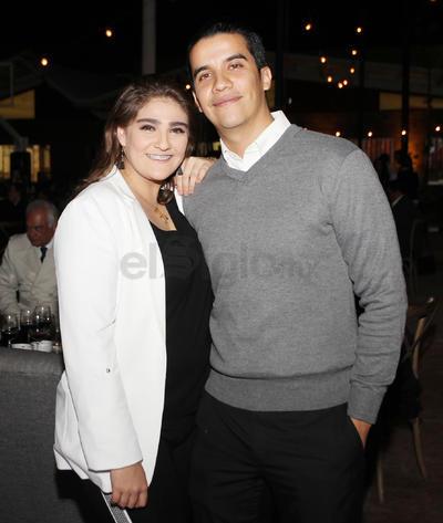 Karina y Miguel.