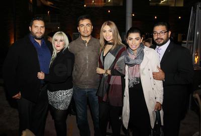 Rubén, Selene, Alicia, Horacio, Lety y Toño.