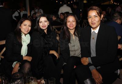 Georgina, Marcela, María y Yadira.