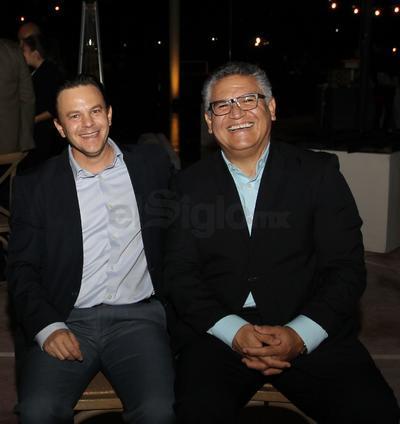 Cuauhtemoc Simental y Antonio Ruiz.