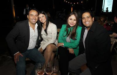 Jorge, Diana, Daniela y Paco.
