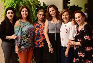 23102018 Carmen, Susy, Abril, Elena, Rosy y Tita.