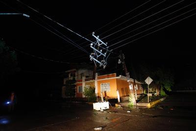 Los municipios de Escuinapa y El Rosario, en Sinaloa, y las zonas aledañas fueron los más afectados, aseguró el gobernador del estado Quirino Ordaz, quien este miércoles recorrió la región.