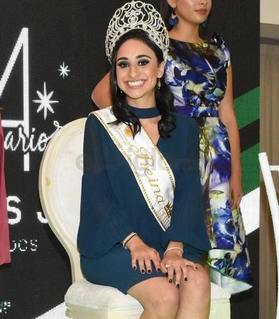 Michelle Shari Treviño Velarde, actual reina del CCD.