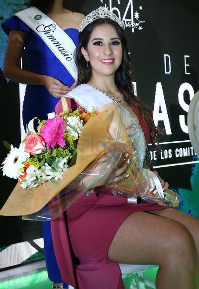 Alejandra Bustamante González, reina del Comité de Gimnasios