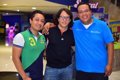 25102018 Armando, Zaid y Félix.