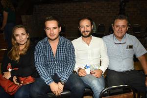 25102018 Lore, Ángel, Ángel y Cedric.