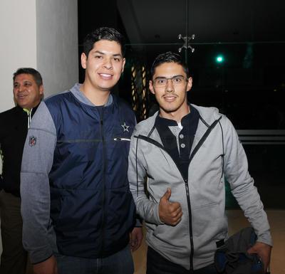 Manuel Morales y Ramiro Escobedo.