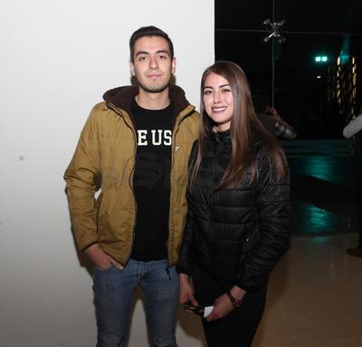 Diana y Fernando.