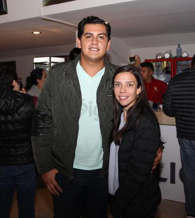 Benjamín Arellano y Cristi Méndez.