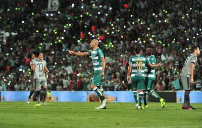Santos Laguna suma 28 puntos.
