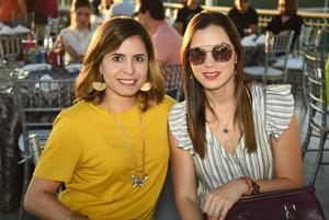 Daniela Cepeda y Ana Lucia Urrutia