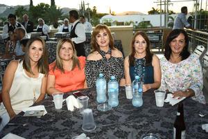 Paola, Lily, Luz Elena y Ale