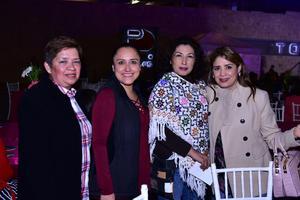 Elula, Adriana, Paty y Claudia