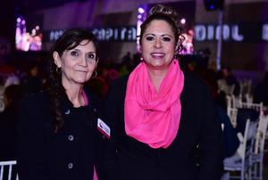 Graciela Morales y Lulu Martínez