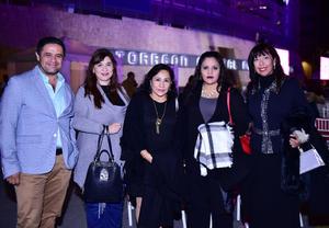 Jose Antonio, Claudia, angeles, Isabel y Liliana