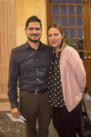 Ivan Vartan y Sara de Valle