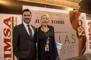 Jorge Alcazar y Elisa Wagner