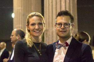 Susie Vereecken y Natanael Espinoza
